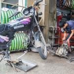 motor bike defect
