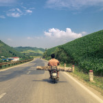 Motorbiking vietnam highlands