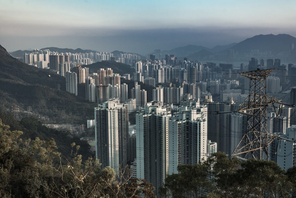 Lion Rock Hongkong